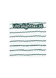 Árnyékoló háló, belátásgátló ULTRALIGHTTEX36 3 m x 50 m zöld