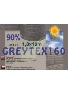 Árnyékoló háló GREYTEX 160 1,8 m x 10 m 90% Antracit szürke / 28604