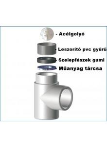 Műanyag tárcsa 40mm (10 db)