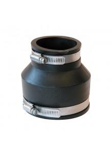 """Flexibilis gumi szűkítő toldó 76x50mm(3""""-1,1/2"""")"""