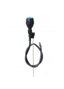 Netafim MegaNet komplet midi adapterrel lágyfalú csővel 130 cm üvegszálas pálcával