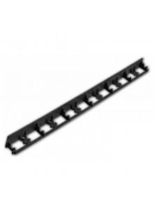 Bradas ágyásszegély fekete 1025/75/50 mm