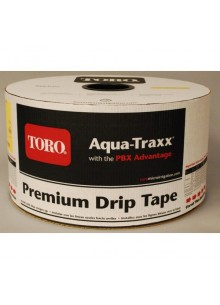AquaTraxx csepegtető szalag 10cm oszt,6mil,1,14L/h (3048m/tek)(16,50Ft/m)