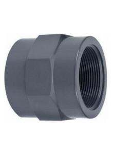 """PVC belsőmenetes toldás 50 mm x 1 1/2"""" BM"""