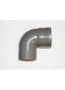 PVC ragasztható könyök 90 fokos - DN90