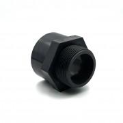 PVC ragasztható csatlakozó külső menetes